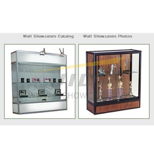 Aluminium Wall Showcase Cabinet (JD-W100)