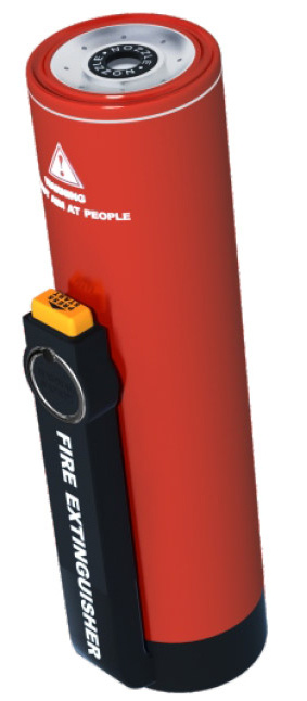 Nano Particles Portable Fire Extinguisher
