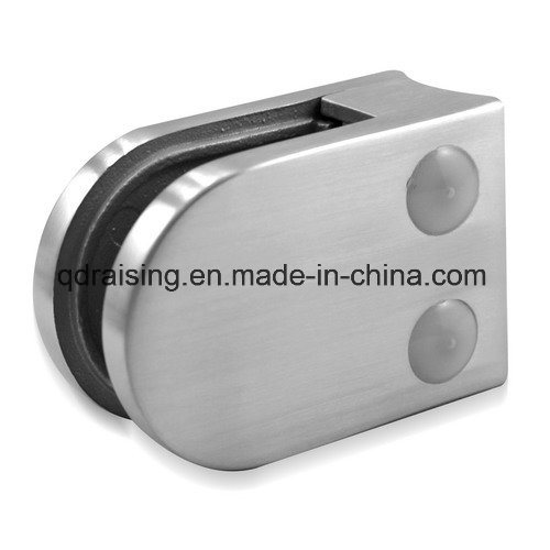 Ce Certificated Stainless Steel Railing Glass Clamp for Outdoor Balustrade and Handrails
