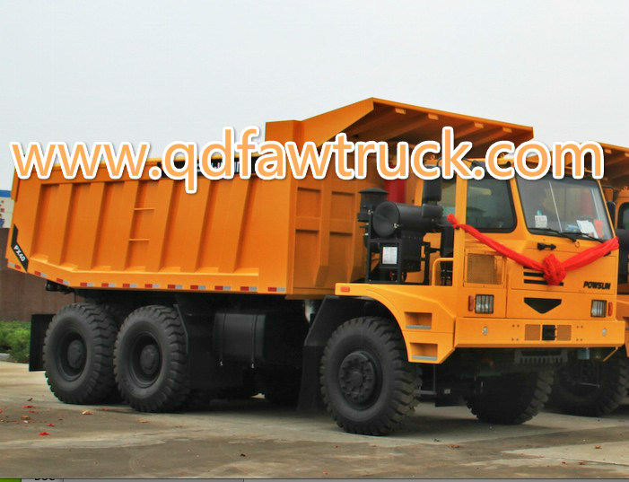 90 Tons Automatic Mining Heavy Duty Truck