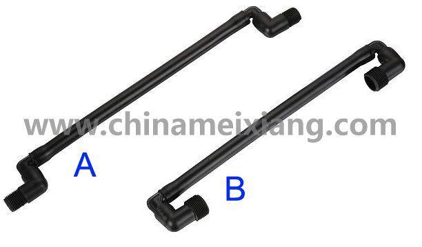 1/2′′, 3/4′′ Bsp PE Swing Joints (MX9208)