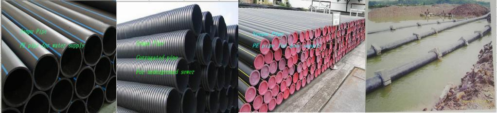 Corrugated Pipe for Underground Sewer