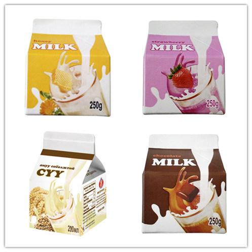 Carton Box for 250ml Fresh Milk/Juice/Cream/Wine/Water