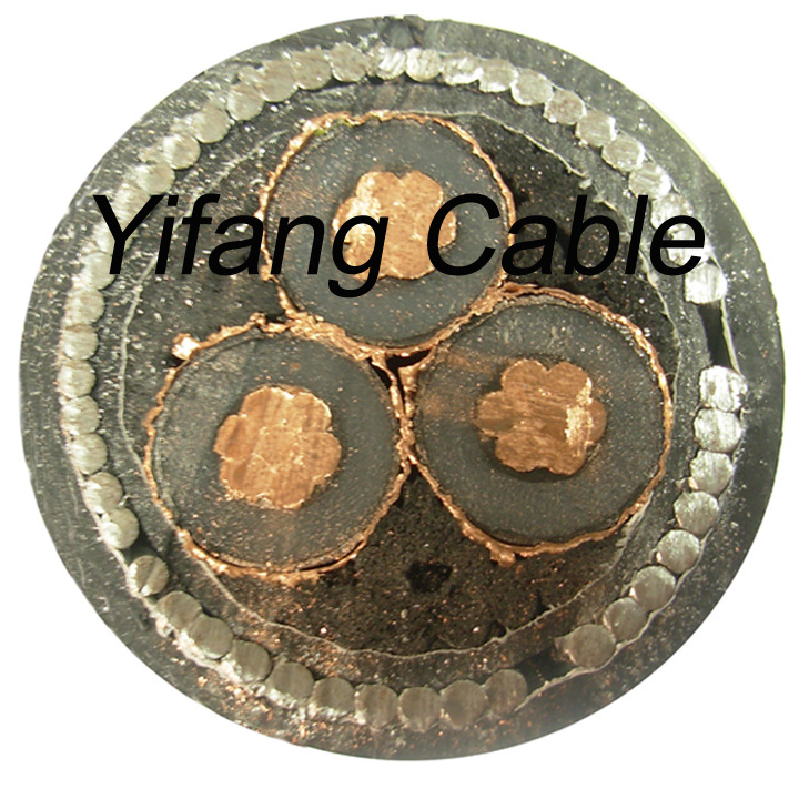 12/20kv (24KV) 3X240mm2 Aluminum Underground Cable Steel Wire Armored Congo