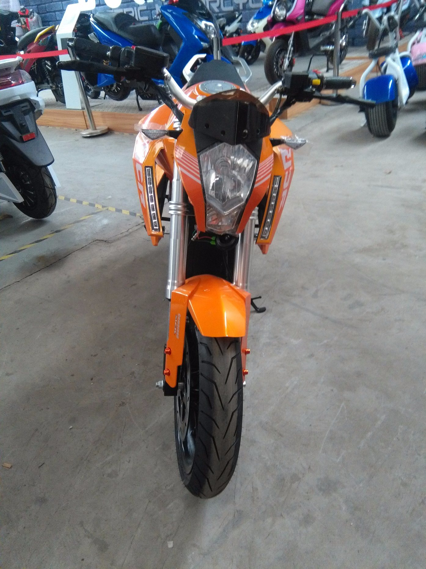 5000W Fast Speed 110kmh Ktm Electric Racing Motorbike Motorcycle