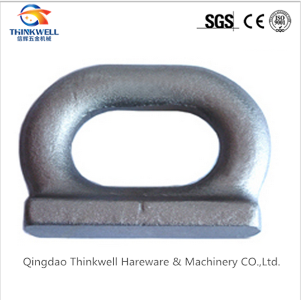 Forging Steel Container Lashing Eye/Deck Eye Plate