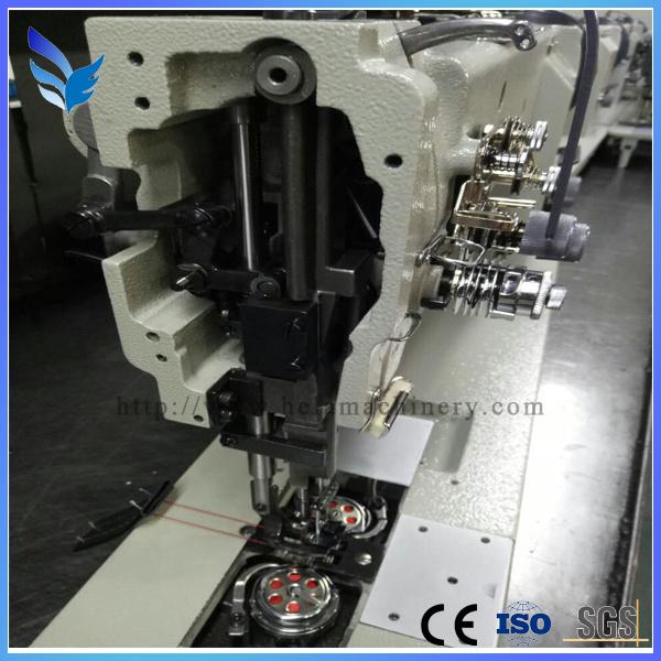 Single Needle Compound Feed Lockstitch Sewing Machine with Auto Thread (GC1510N/GC1510N-7)