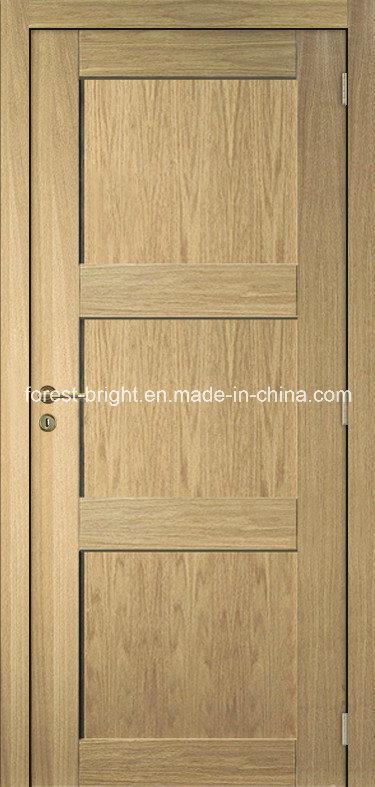 Good Quality Oak Veneer Modern MDF Door