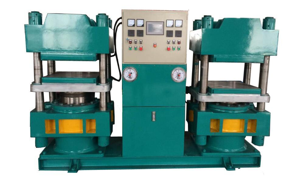 Plate Hydraulic Press /Rubber Tile Vulcanizing Machine