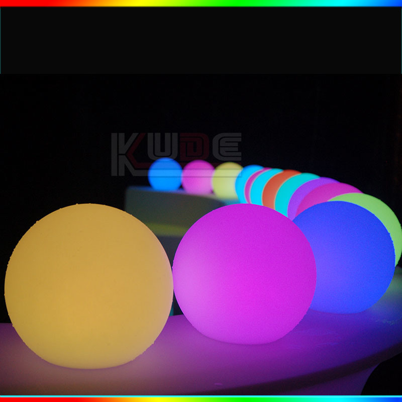 Battery Powered Globe Multicolor Waterproof LED Ball Lighting