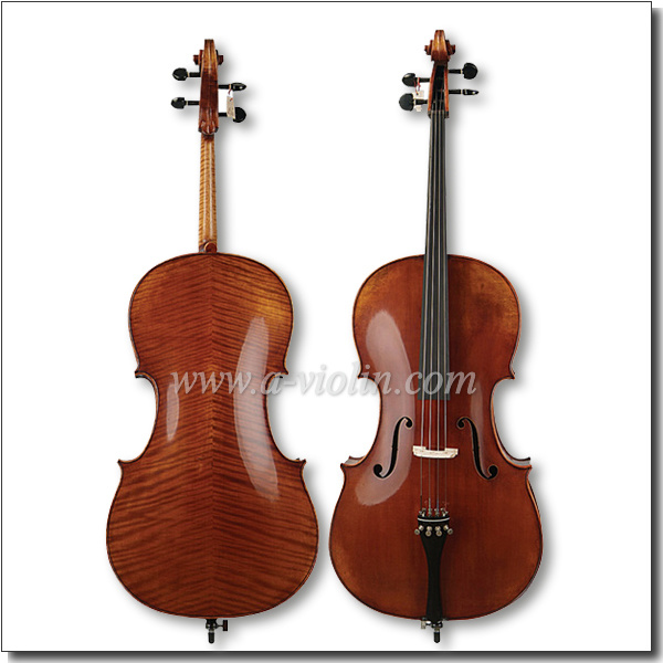 4/4 Professional Hand Mixed Oil Varnish Antique Cello (CH800E)