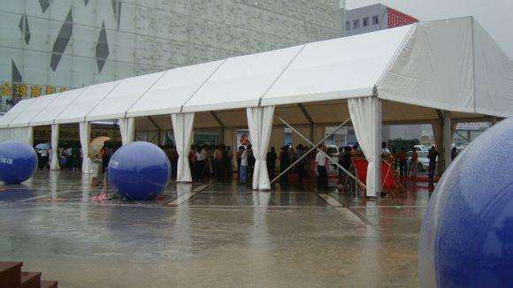 UV-Resistant Exhibition Tent PVC High Strength Tarp/Tarpaulin