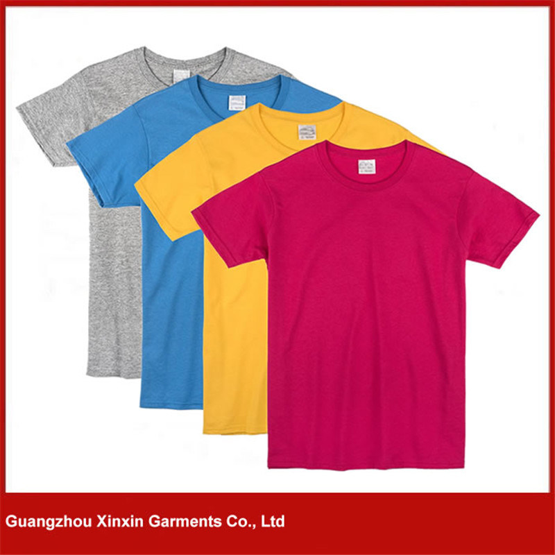 Custom High Quality Cotton Men′s Printing T Shirts with Your Own Logo (R130)