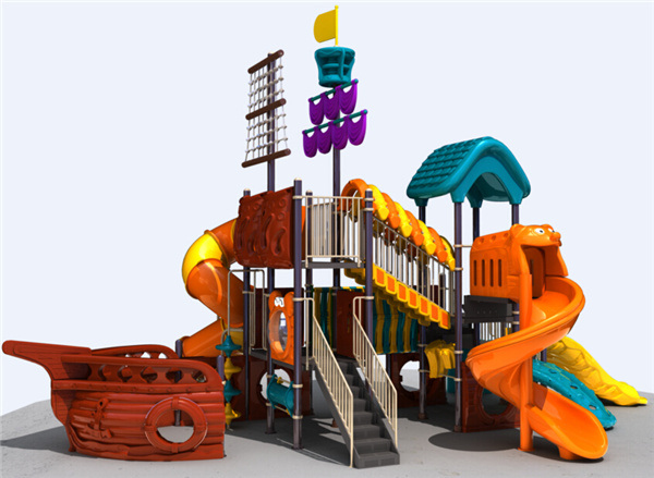 New Design Amusement Park Outdoor Playground Equipment Outdoor Slide for Kids