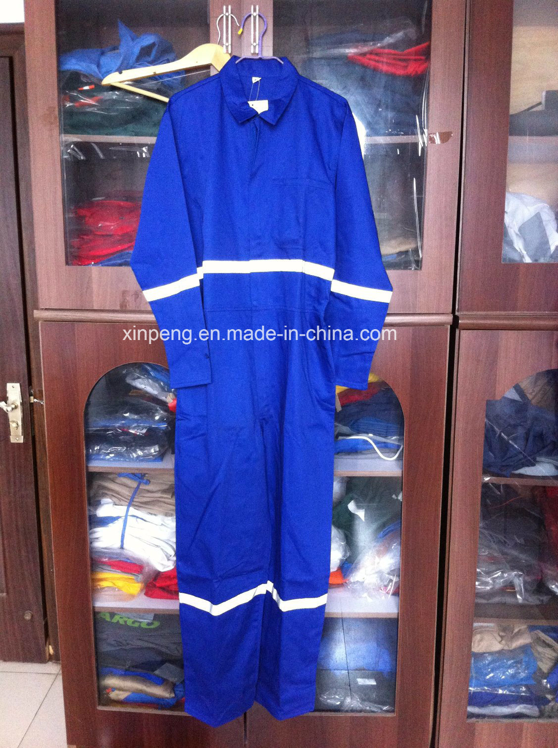 Africa Design Coverall with Reflective Tapes