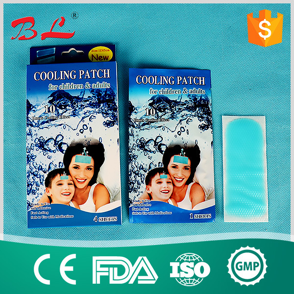 Ice Cool Patch Fever Reducing Patch Headache Pain Relief Patch 5*12cm