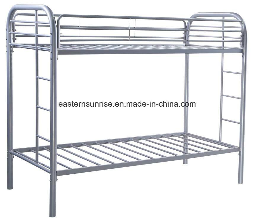 Black Kids Single Bunk Bed Bed Frame