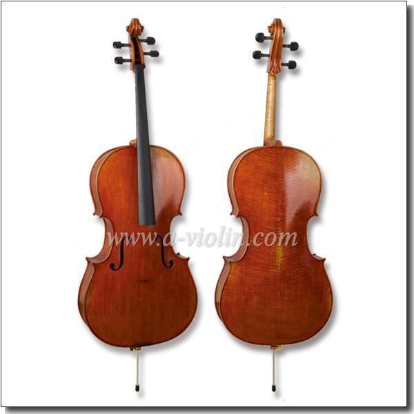 4/4, 3/4 Antique Oil Varnish Professional Advanced Cello (CH500VA)