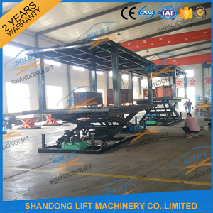 Hydraulic Scissor Car Elevator Parking Systems with Ce