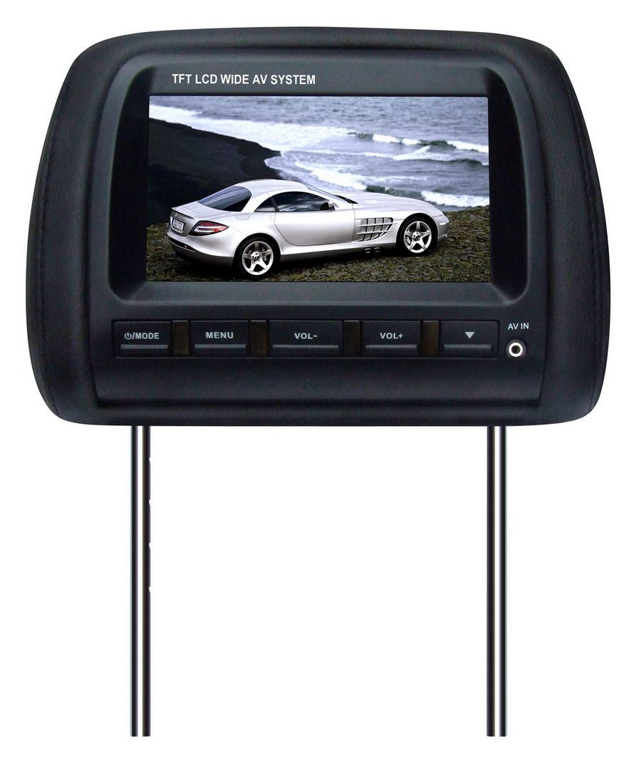 Tv headrest monitors
