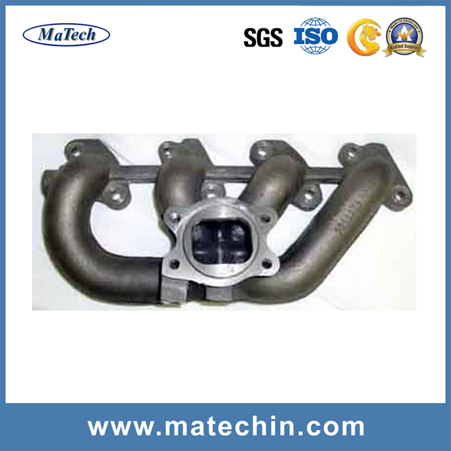 Foundry Custom Cast Ggg40 Iron Exhaust Manifold