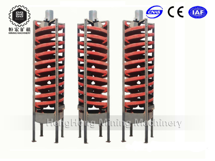High Recovery Rate Spiral Concentrator for Gold Concentrator