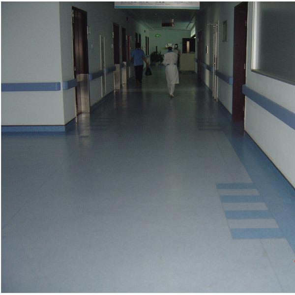 Vinyl Handrail for Hospital
