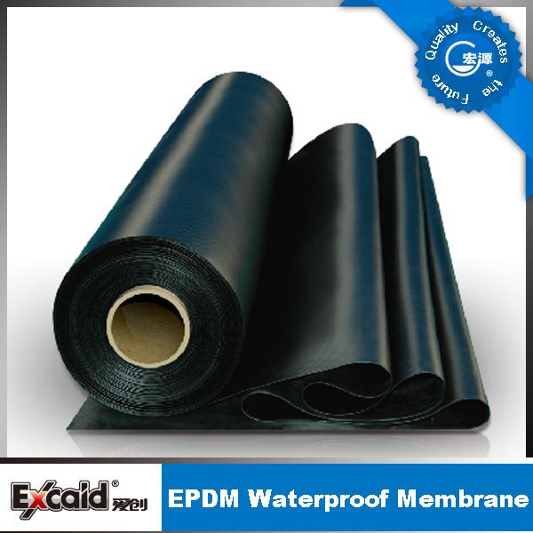 EPDM Pond Liner/EPDM Waterproof Membrane/Waterproofing Membrane with CE Certificate
