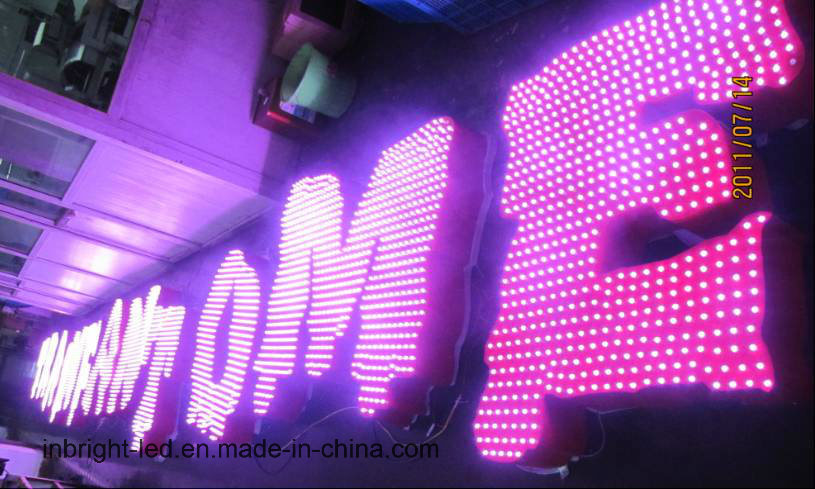 Outdoor Advertising Channel RGB LED Letters Sign /Used Lighted Sign Letters