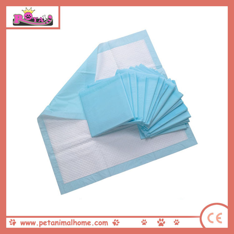 60*60cm Highly Absorbent Disposable Dog PEE Pad in Blue