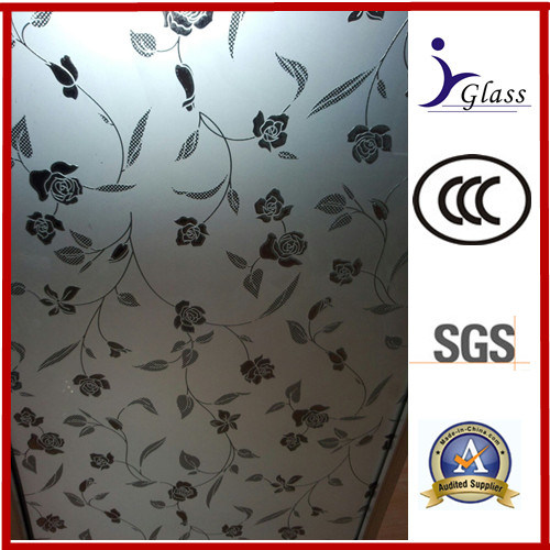 Acid Etching Glass Frosted Glass