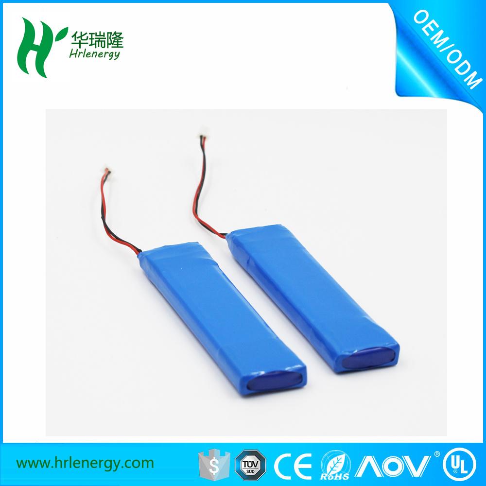 Hrl7.4V 400mAh Lithium Polymer Recharge Batteries