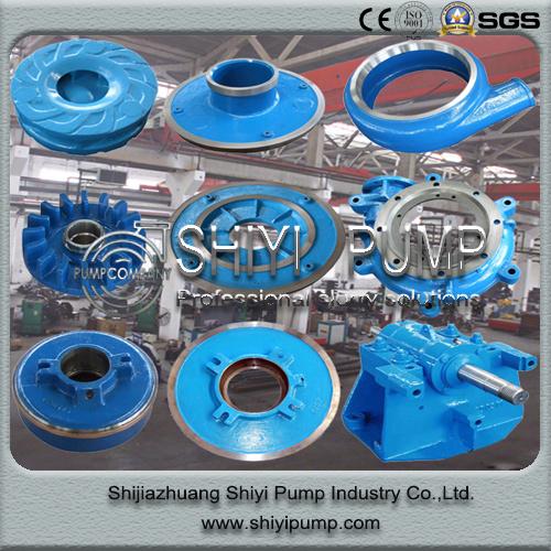 Centrifugal Slurry Water Treatment Slurry Pump Spare Parts