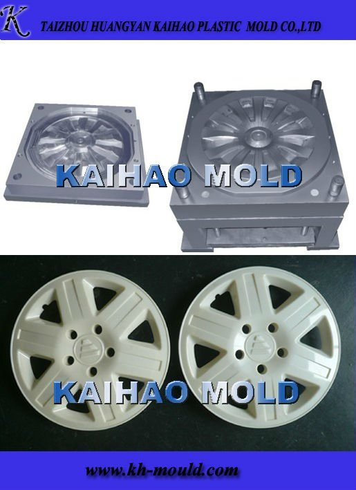 Plastic Car Wheel Cover Injection Mould (KH-2013005)
