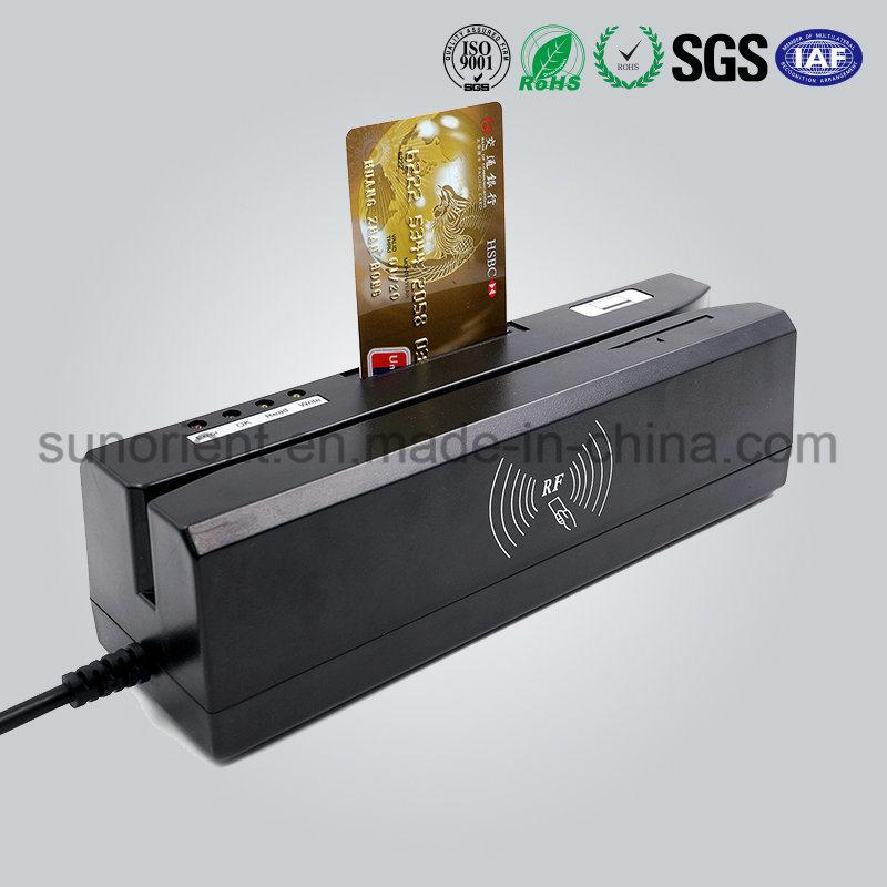 Efficient Track 1/2/3 Magnetic Strip Card Reader/Encoder