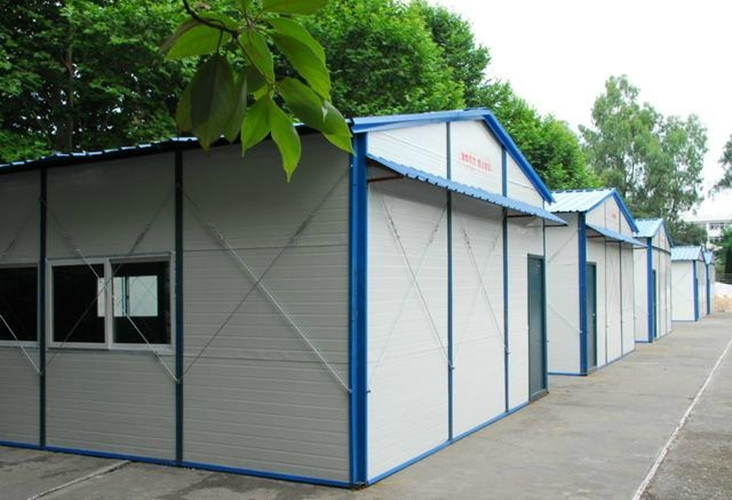 Portable Steel Structure Construction Worker House (KXD-SSW1448)