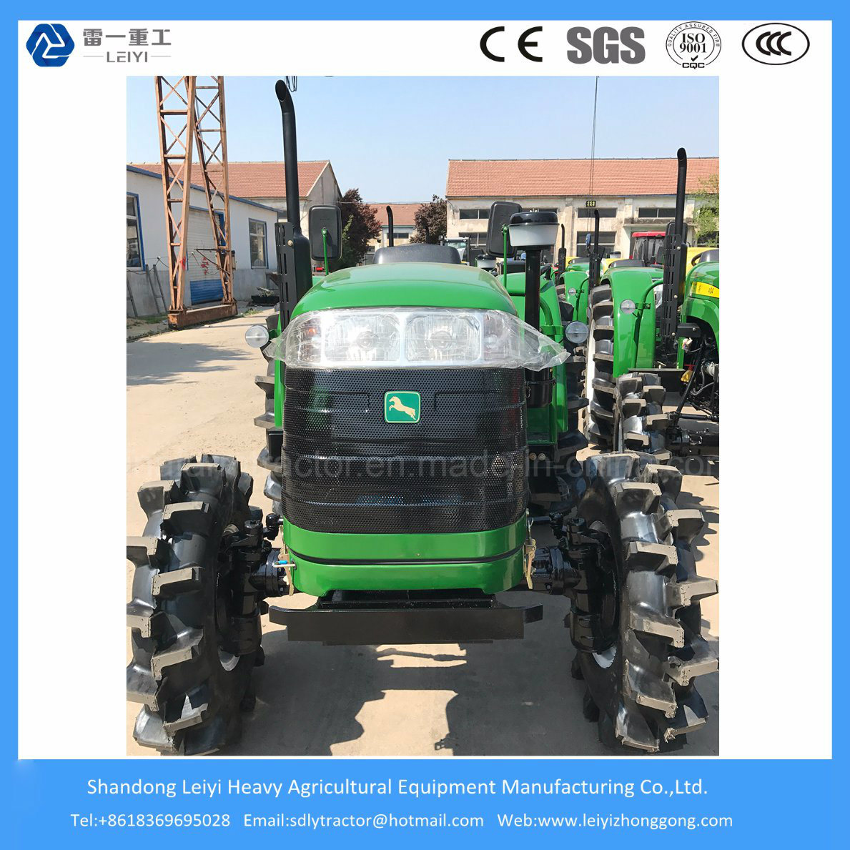 4WD Wheel Farming 40/48/55HP Mini/Agricultural/Compact/Small/Diesel Farm/Garden Tractor
