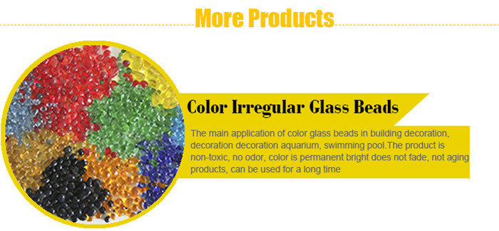 Permanent Bright Wall Decoration Bright Glass Bead for Swimming Pool