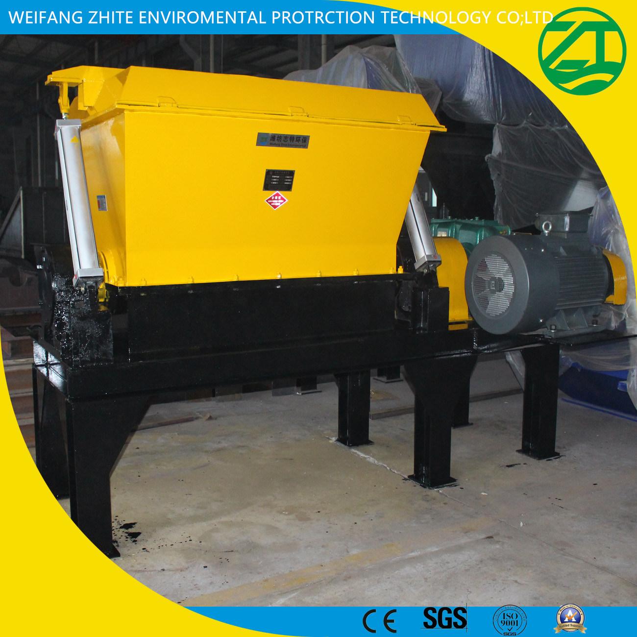 Efficient Two-Stage Shredder for Dead Pig/Cow/Chicken/Duck/Sheep/Horse/Municipal Waste/Foam