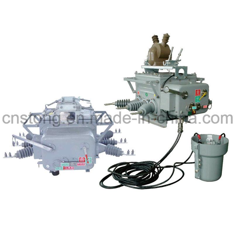Stong Zw20-12 Type Outdoor Intelligent Hv Vacuum Circuit Breaker