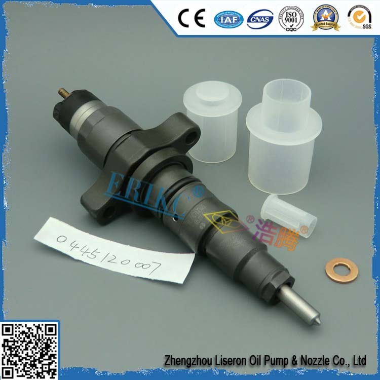 Bosch Common Rail Injector 0445120007 Fuel Diesel Injector 0 445 120 007 for Iveco, Ford, Agrale-Deutz, Cummins Daf