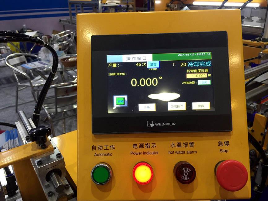 New Type Computer Control CNC Acrylic PVC Bending Machine