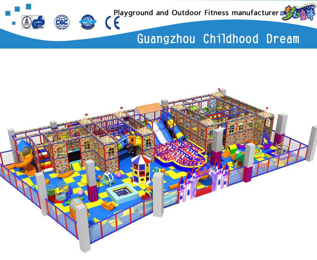 Large Indoor Playground Soft Playground Set on Promotion (H14-Ca905)