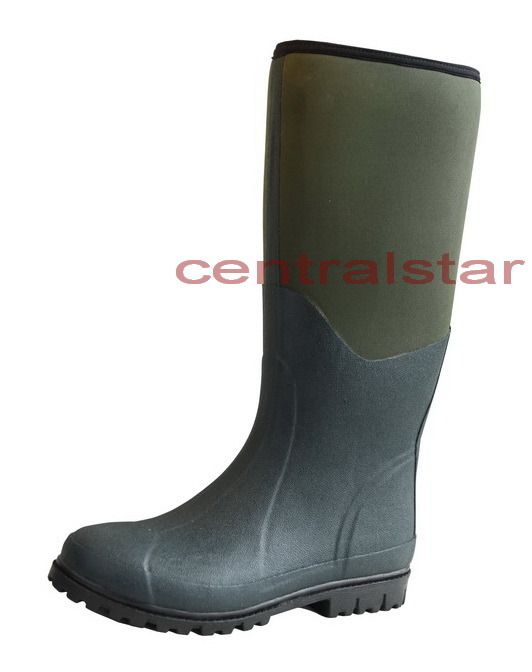 China fashion waterproof fishing hunting rubber boots for Waterproof fishing boots