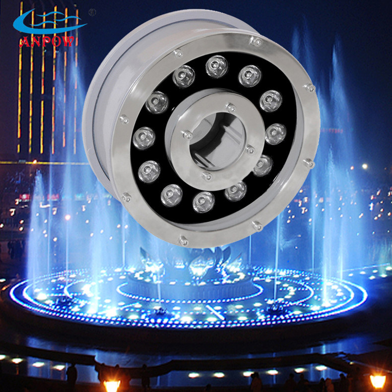 9w 12w rgb underwater led fountain light photos pictures. Black Bedroom Furniture Sets. Home Design Ideas