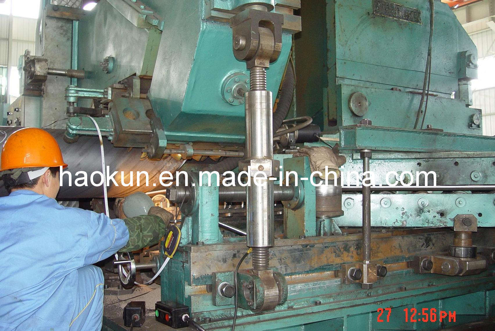 Spiral Pipe Making Machine SSAW Mill Production Line Forming Machine