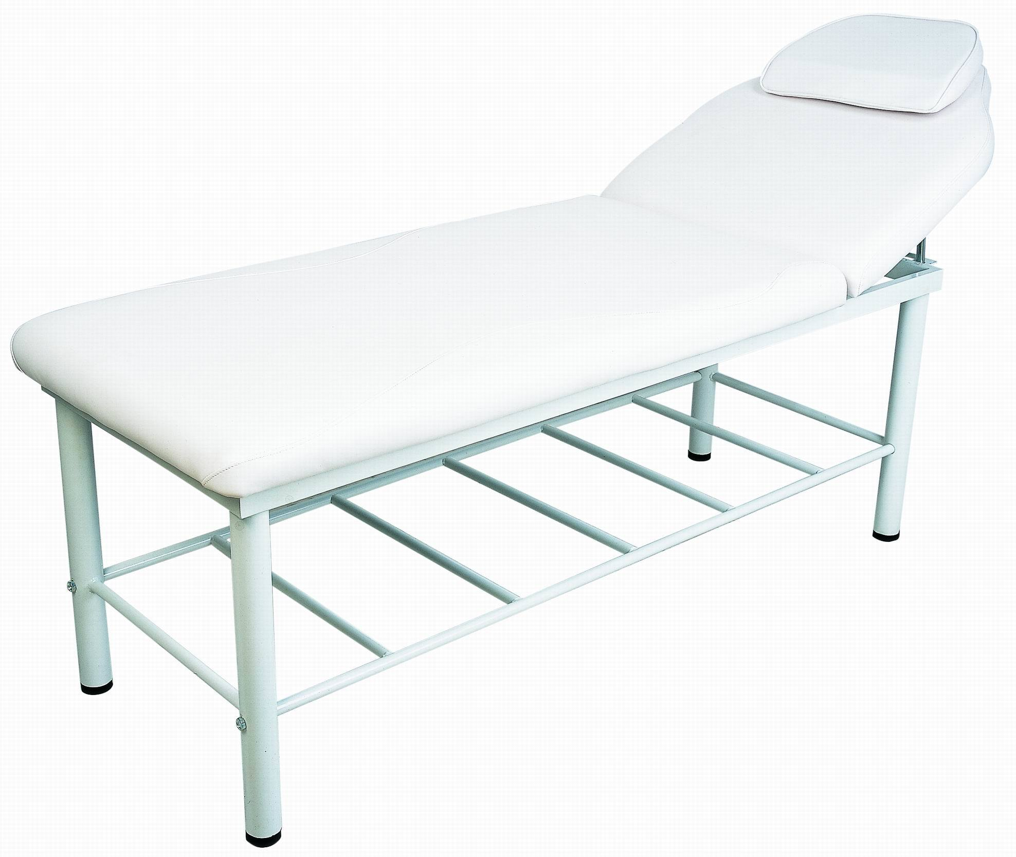 Facial and massage bed was