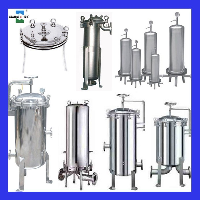Stainless Steel Air Cleaner Housing : China stainless steel filter housing for liquid and air