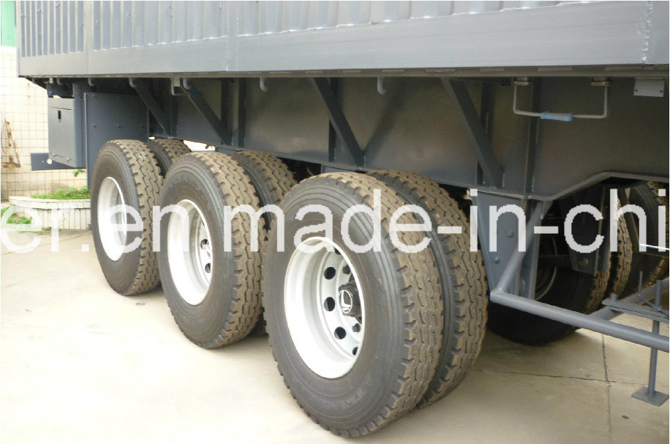 40 Feet 3axle Side Wall Semi Trailer