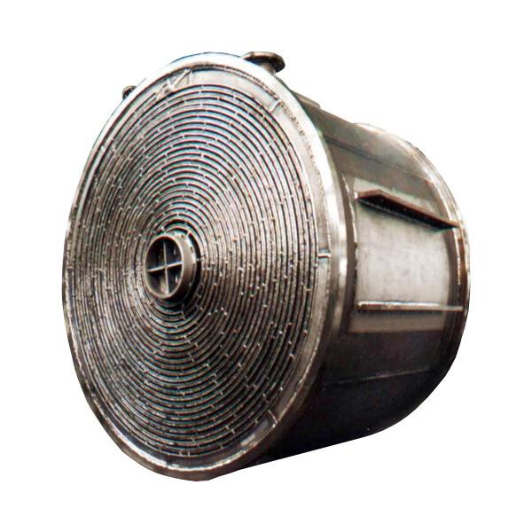 China Titanium & Nickel Spiral Sheet Tube Heat Exchanger